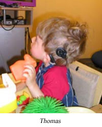April and Ty became interested in hear ME now! when a Listening & Spoken Language Specialist spoke to the Parent-Infant-Toddler program at the